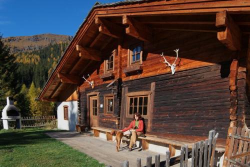 Südseite Hütte